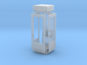 K8 Telephone Box - OO (1:76) scale in Smooth Fine Detail Plastic