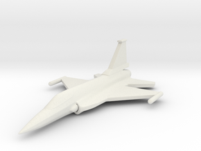 1/285 (6mm) JF-17 Fighter  in White Natural Versatile Plastic