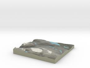 Terrafab generated model Sun Dec 08 2013 21:30:11  in Full Color Sandstone