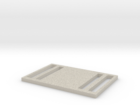 Double Buckle in Natural Sandstone