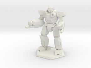 Mecha- Odyssey- Uranus (1/285th) in White Strong & Flexible