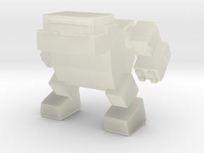 Bulldog Robot in Transparent Acrylic