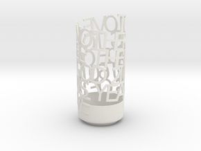 Light Poem - 60th anniversay plus 2LKFJ in White Natural Versatile Plastic
