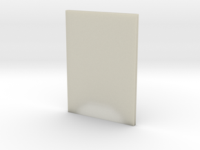 DIN A5 paper holder in Transparent Acrylic