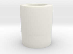 basic shotglass in White Natural Versatile Plastic