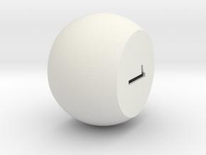 Prime 2 in White Natural Versatile Plastic