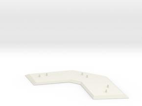 Star Schlep Main Stand in White Natural Versatile Plastic