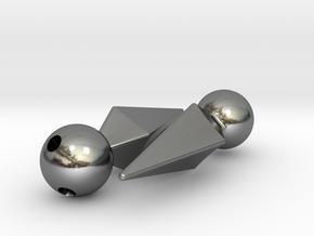 Marik Ishtar Earrings / Ishizu Ishtar Pendants  in Polished Silver