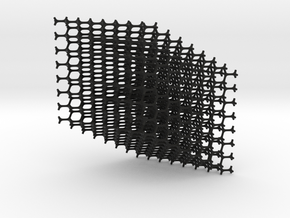 Standard Diamond Lattice in Black Strong & Flexible