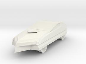 Gonzalo Car in White Natural Versatile Plastic