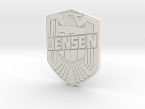 Jensen Custom in White Natural Versatile Plastic