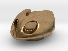Bombshoe in Natural Brass