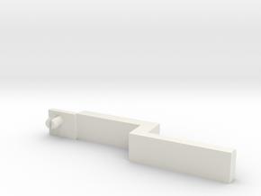 Nintendo 3DS Trigger Adjusted [V2] in White Natural Versatile Plastic