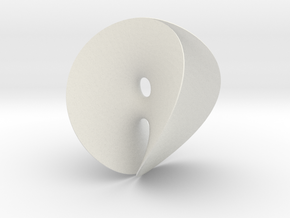 Chen-Gackstatter Minimal Surface in White Natural Versatile Plastic