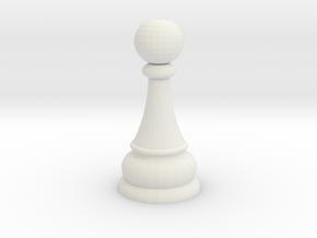 ldb3 pawn in White Natural Versatile Plastic