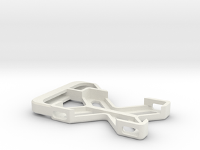 Galileo GoPro mount in White Natural Versatile Plastic