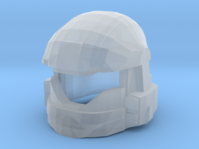 Drop Trooper Helmet Mk II in Smooth Fine Detail Plastic