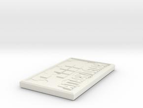 WAR GODS command counter ATTACH/DETACH in White Natural Versatile Plastic