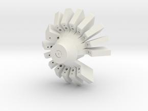 Fiber microdrive in White Natural Versatile Plastic