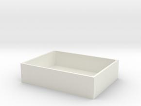 SimpleBox in White Natural Versatile Plastic