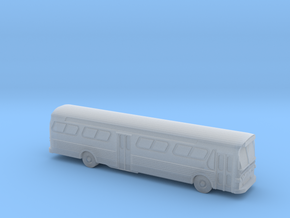 GM FishBowl Bus Ultra - Z Scale  in Smooth Fine Detail Plastic