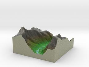 Terrafab generated model Tue Dec 03 2013 22:28:24  in Full Color Sandstone