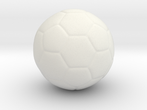 football in White Natural Versatile Plastic