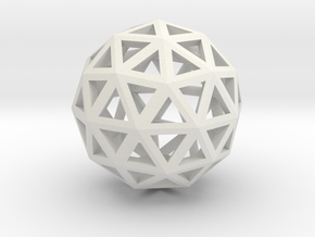 Artsy Sphere in White Strong & Flexible