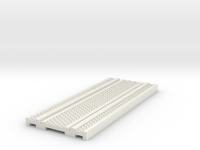 O9 cast iron track 6ft straight  in White Natural Versatile Plastic