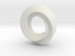 Figure 8 Klein Mobius in White Natural Versatile Plastic
