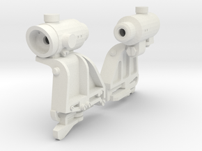 1/6 scale Russian Rakurs combat sight X2 in White Natural Versatile Plastic