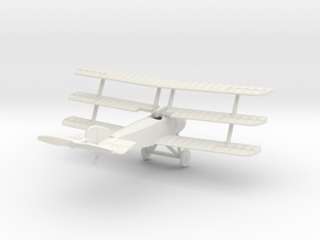 1/144 Sopwith Triplane in White Natural Versatile Plastic