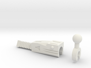 Sunlink - 3mm: Pred Laser in White Natural Versatile Plastic