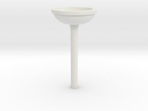 Sunlink - BC11 Plunger v2 in White Natural Versatile Plastic