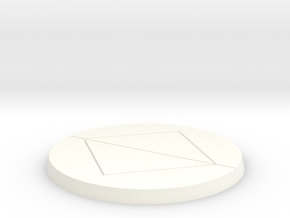 Reboot icon small in White Strong & Flexible Polished