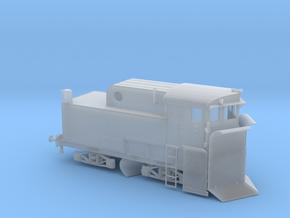 "Spur H0 Modell Klima Schneepflug Bauart ""Linz"" in Smooth Fine Detail Plastic"