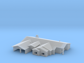 Ranch Style House 1 in Smooth Fine Detail Plastic