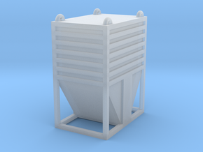 Dolomite Container - Z Scale in Smooth Fine Detail Plastic