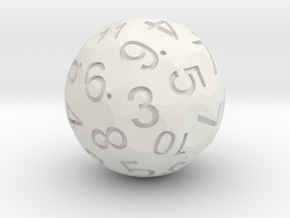 Dual D6 in White Strong & Flexible