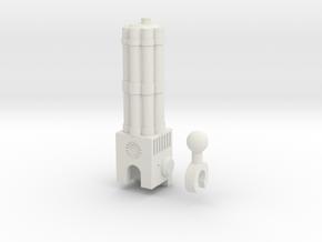 Sunlink - 3mm: Chaingun in White Strong & Flexible