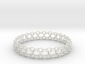 3in Yojimbo Bracelet in White Strong & Flexible