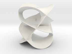 Riemann Surface in White Natural Versatile Plastic