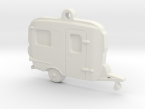 Burro Camper Pendant in White Natural Versatile Plastic