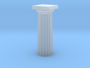 Parthenon Column Top (Hollow) 1:100 in Smooth Fine Detail Plastic