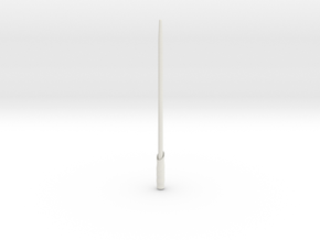 Light Saber in White Natural Versatile Plastic