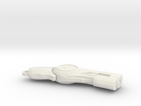 Batman Arkham Grapple Keychain in White Natural Versatile Plastic