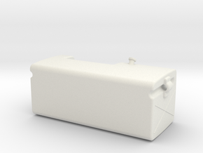 Fuel-tank-large RH in White Strong & Flexible