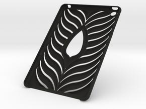 Ipad Mini Case in Black Natural Versatile Plastic