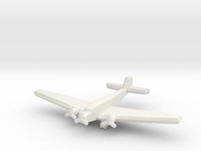 Ju 52/3mge (single) 1:900 in White Natural Versatile Plastic