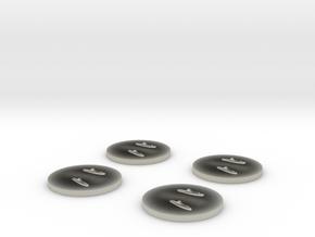 Nuoli MTB 1:1800 x4 in Transparent Acrylic